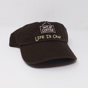 Offside Life is Crap Baseball Cap Brown